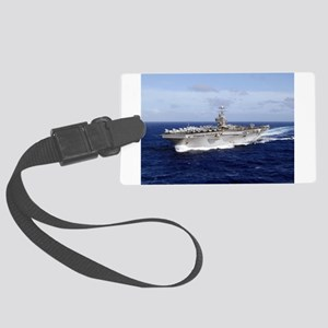 USS Abraham Lincoln CVN-72 Luggage Tag
