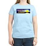 Siesta Beach At Sunset Women's Light T-Shirt