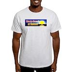 Siesta Beach At Sunset Light T-Shirt
