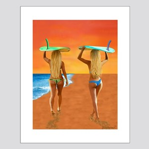 SURFER GIRLS Posters