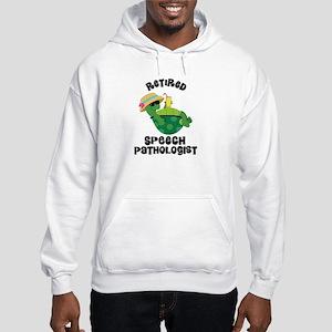 Retired Speech Pathologist Hooded Sweatshirt