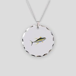 Yellowfin Tuna Fish Necklace