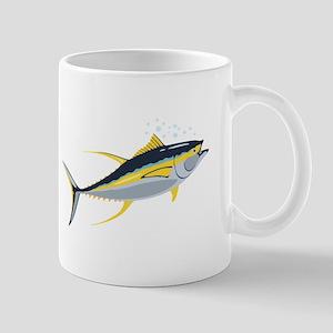 Yellowfin Tuna Fish Mugs