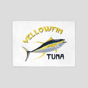 Yellowfin Tuna 5'x7'Area Rug