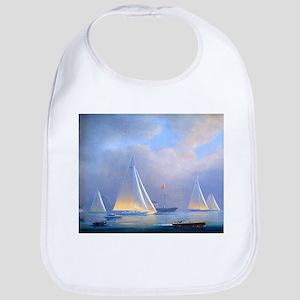 Vintage Sailboat Bib