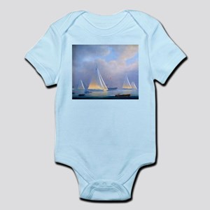 Vintage Sailboat Infant Bodysuit