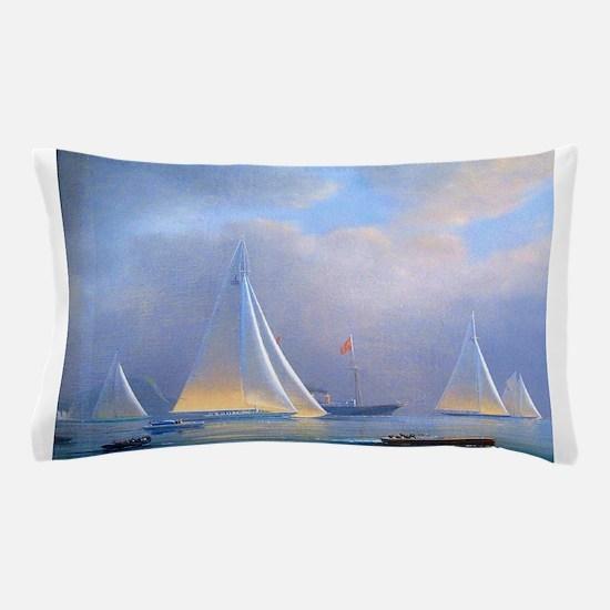 Vintage Sailboat Pillow Case