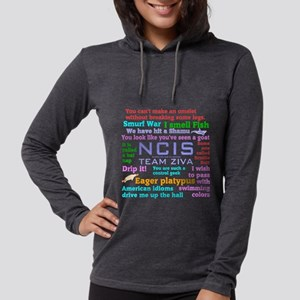 NCIS Ziva Quotes Long Sleeve T-Shirt