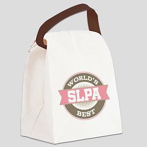 World's Best SLPA Canvas Lunch Bag
