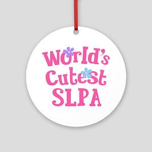 Cutest SLPA Ornament (Round)