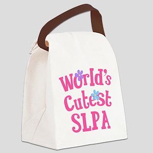 Cutest SLPA Canvas Lunch Bag