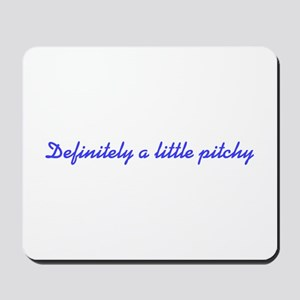 Pitchy Mousepad