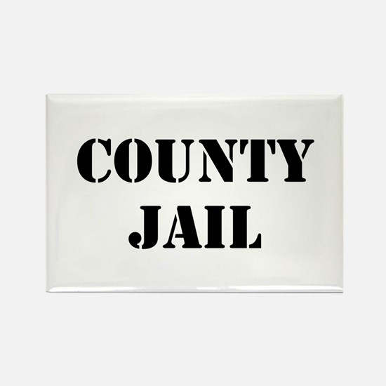 County Jail Magnets