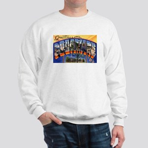 Delaware Greetings (Front) Sweatshirt