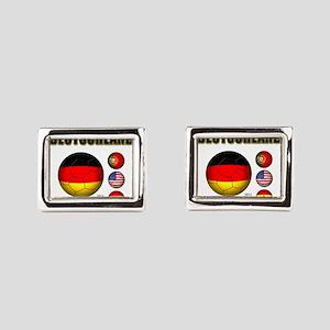 Deutschland 2014 Rectangular Cufflinks