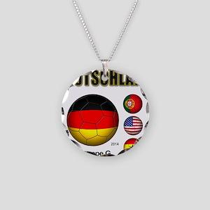 Deutschland 2014 Necklace