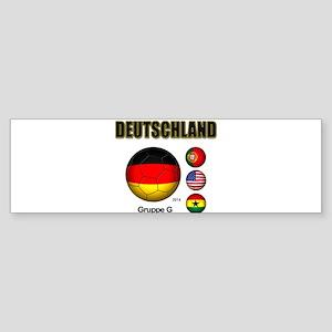 Deutschland 2014 Bumper Sticker