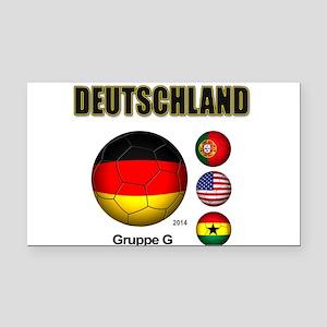 Deutschland 2014 Rectangle Car Magnet