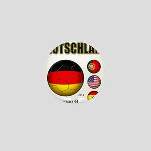 Deutschland 2014 Mini Button