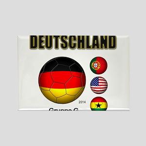 Deutschland 2014 Magnets