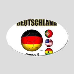 Deutschland 2014 Wall Decal