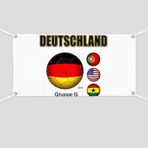 Deutschland 2014 Banner