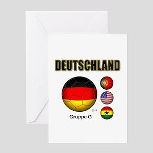 Deutschland 2014 Greeting Cards