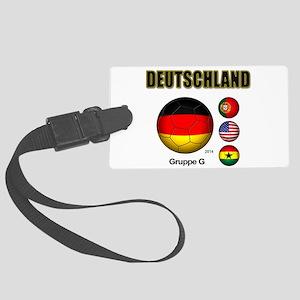 Deutschland 2014 Luggage Tag