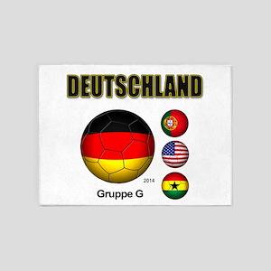 Deutschland 2014 5'x7'Area Rug
