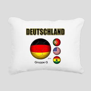 Deutschland 2014 Rectangular Canvas Pillow