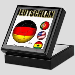 Deutschland 2014 Keepsake Box