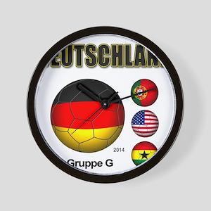 Deutschland 2014 Wall Clock