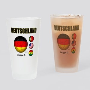 Deutschland 2014 Drinking Glass
