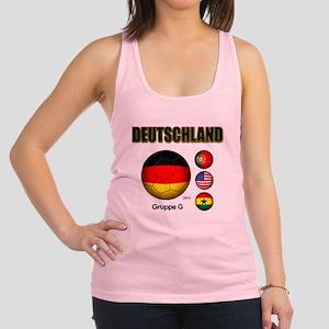 Deutschland 2014 Racerback Tank Top