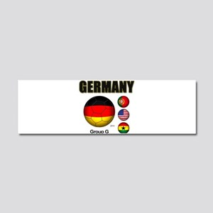 Germany-Soccer-2014 Car Magnet 10 x 3