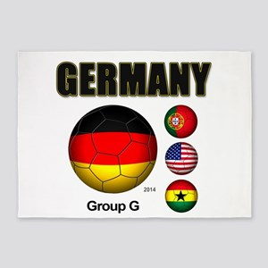 Germany-Soccer-2014 5'x7'Area Rug