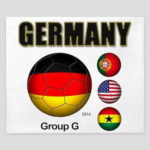 Germany-Soccer-2014 King Duvet