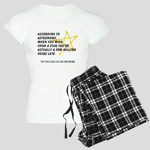 According to Astronomy Pajamas