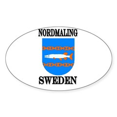 The Nordmaling Store Oval Decal