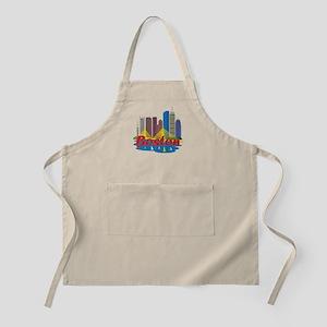 Boston Skyline Apron
