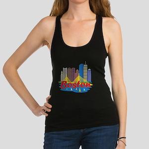 Boston Skyline Racerback Tank Top