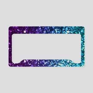 Mosaic Sparkley 2 License Plate Holder