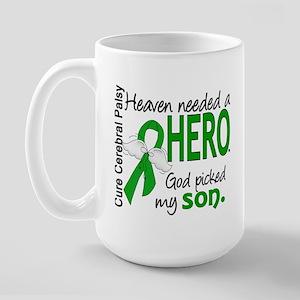Cerebral Palsy HeavenNeededHero1 Large Mug