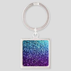 Mosaic Sparkley 2 Square Keychain