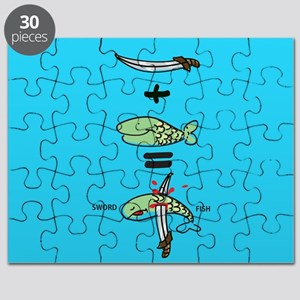 Green Sword Fish Puzzle