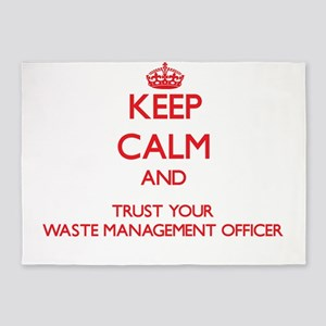 Keep Calm and trust your Waste Management Officer