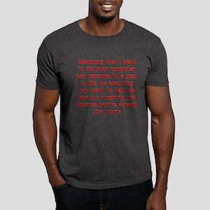 Faulty Assumption Dark T-Shirt