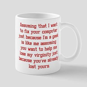 Faulty Assumption Mug