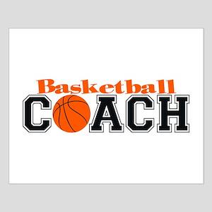 Basketball Coach Small Poster