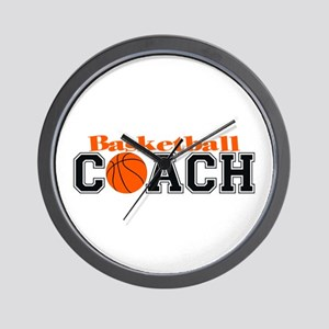 Basketball Coach Wall Clock